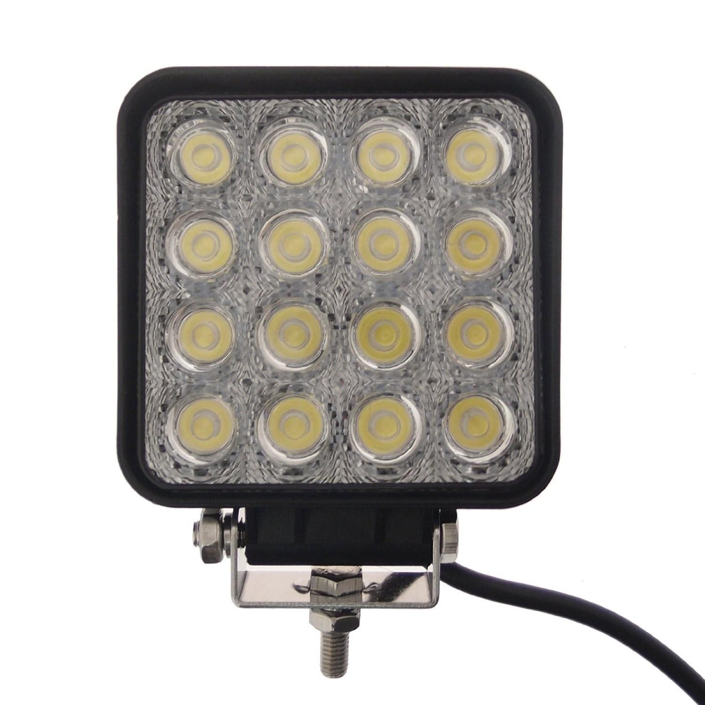 RioRand® Led Village Square Spot Beam 48watt LED Work Lamp
