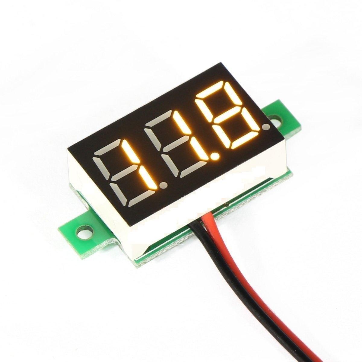 Riorand Mini Dc 300300v Volt Meter 036 Led Digital Voltmeter Circuit Zoom