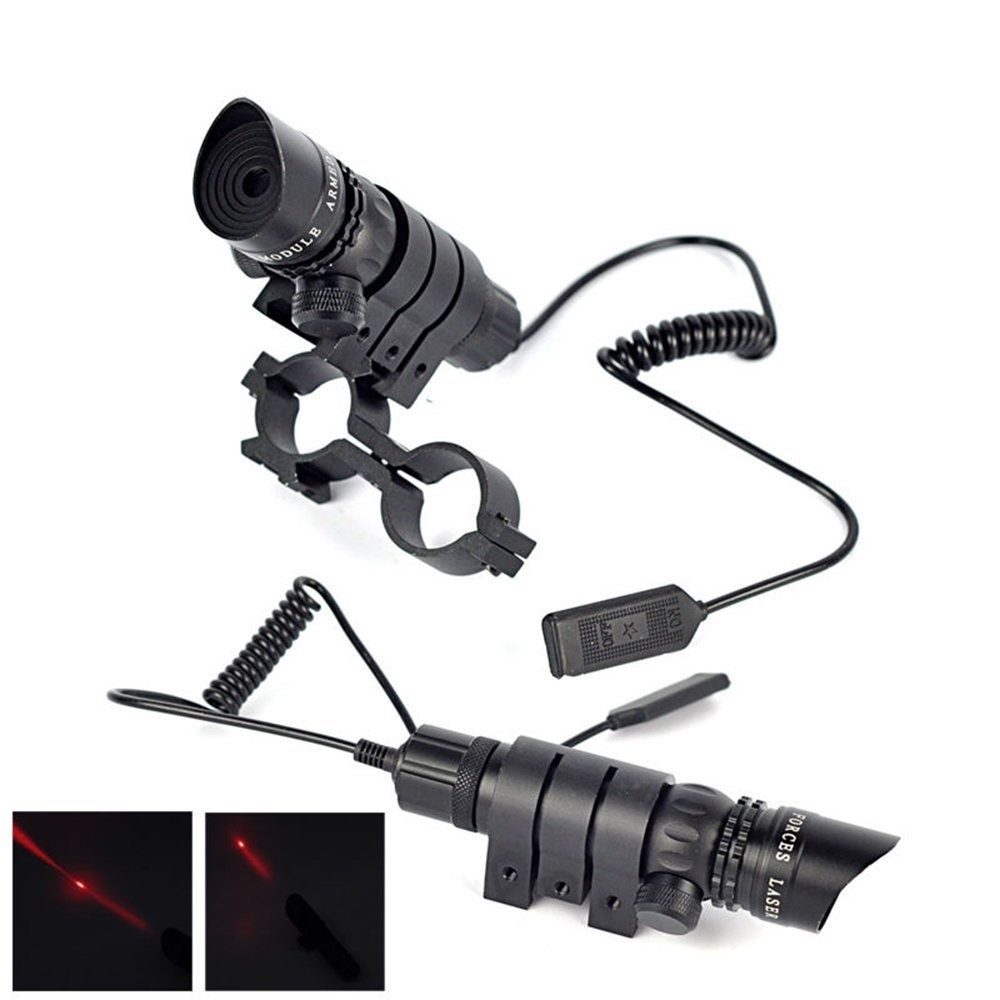 New Outdoor Hunting Adjustable Optics Red Dot Laser Sight Scope w// 20mm Mounts
