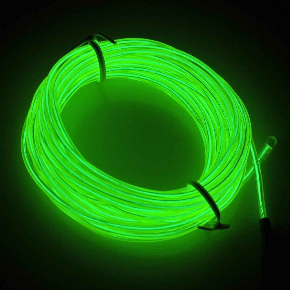 RioRand Neon Glowing Strobing Electroluminescent Light El Wire w ...