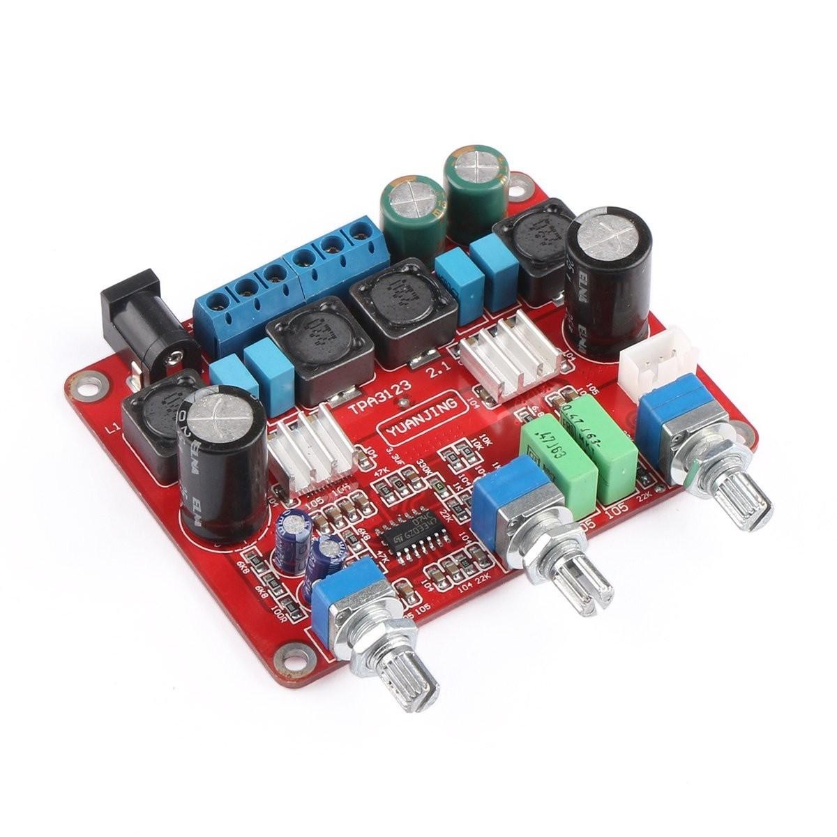 Riorand Tpa3123 Class D Digital Subwoofer Amplifier 21 Channel Amp Zoom