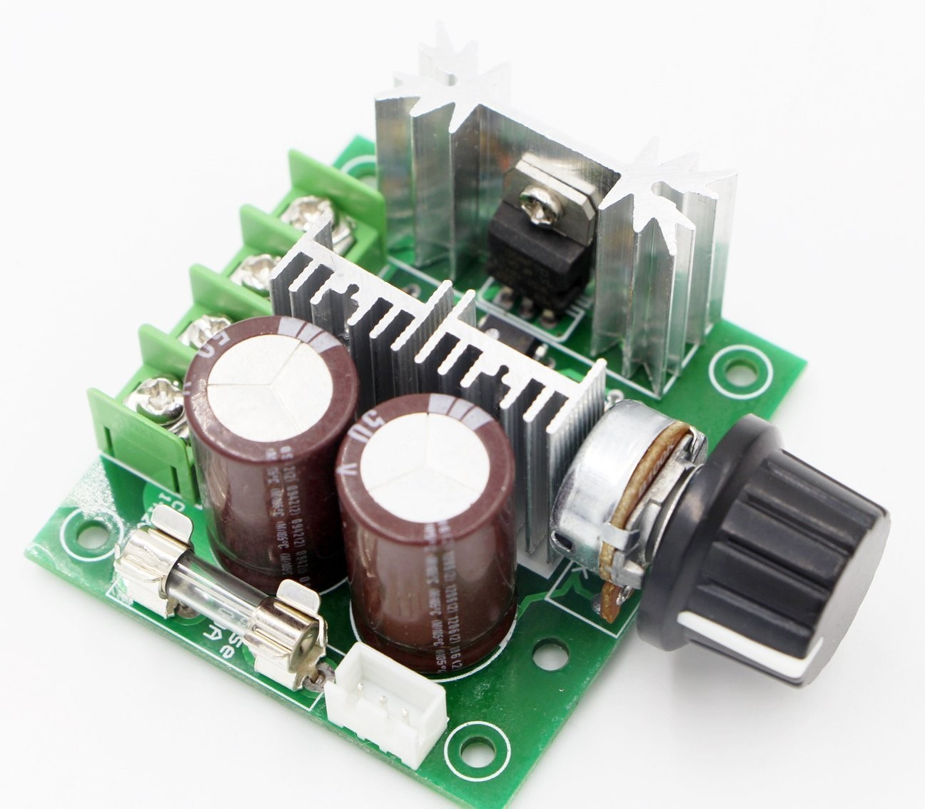 Riorand Pwm 12v 40v Dc Electric Pump Motor Speed Controller Stepless Circuit Ac 10 100 10a Zoom
