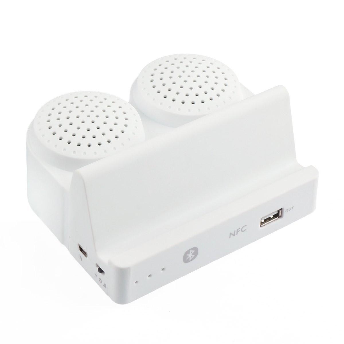 RioRand® Bluetooth 4.0 Wireless Stereo Speakers Flat Bracket ...
