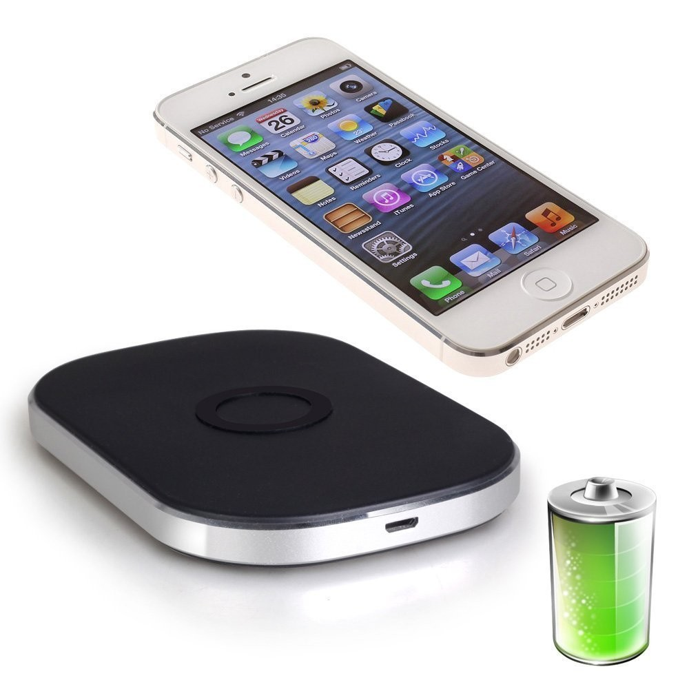 RioRand 3-coils Qi Wireless Charger Transmitter Charging Pad Plate