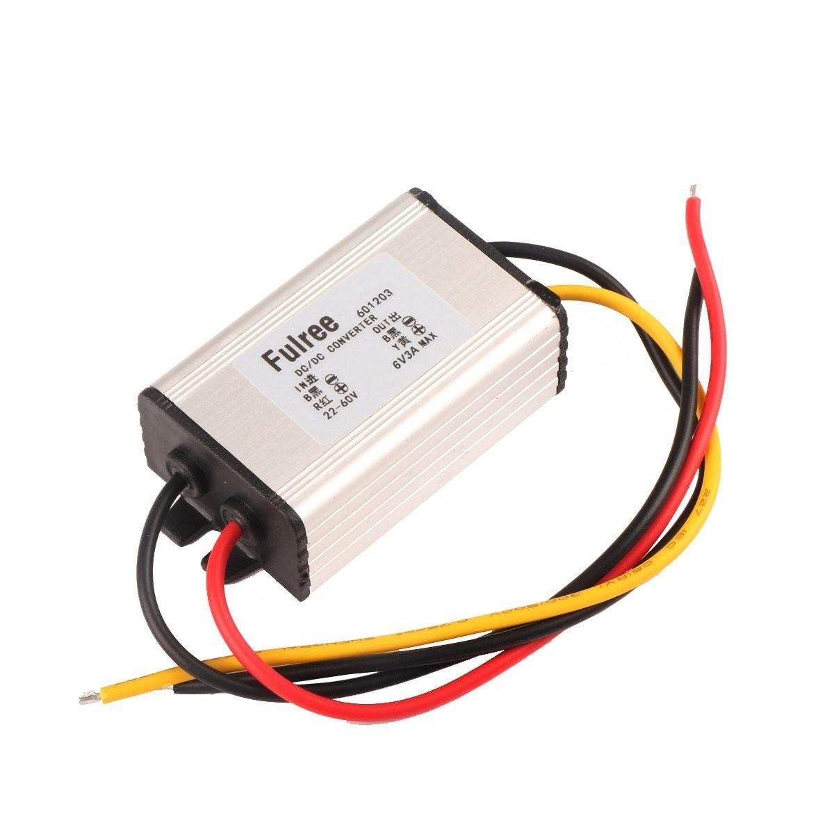 Riorand Dc To Buck Voltage Converter 22 60v 24v 36v 48v 6v 3a Wiring 12v Accessories System Zoom