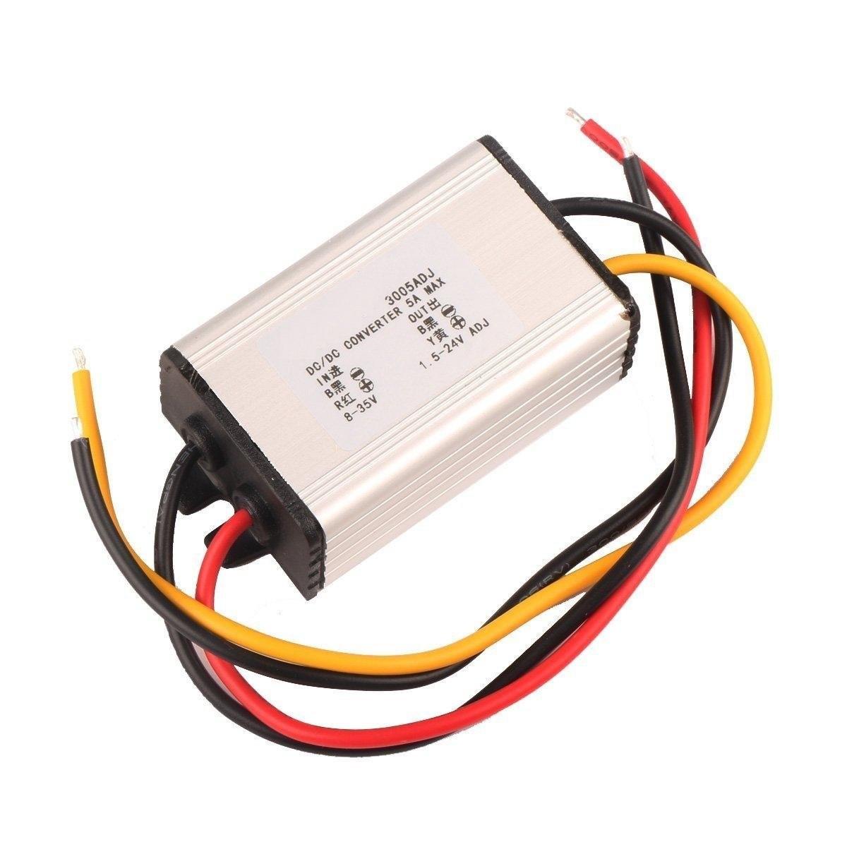 Riorand Dc Volt Converter Regulator 8 35v 24v 12v To 15 5v 12 V Vehicle Wiring Schematic Zoom