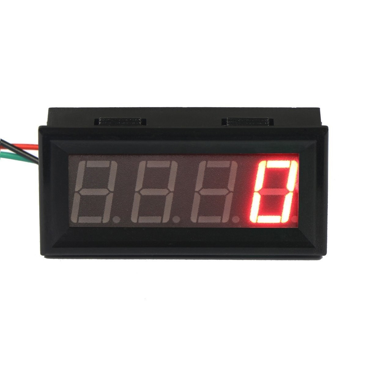 Riorand 056 Digital Motor Led Tachometer Rpm Speed Measure Gauge Circuit Bar Zoom