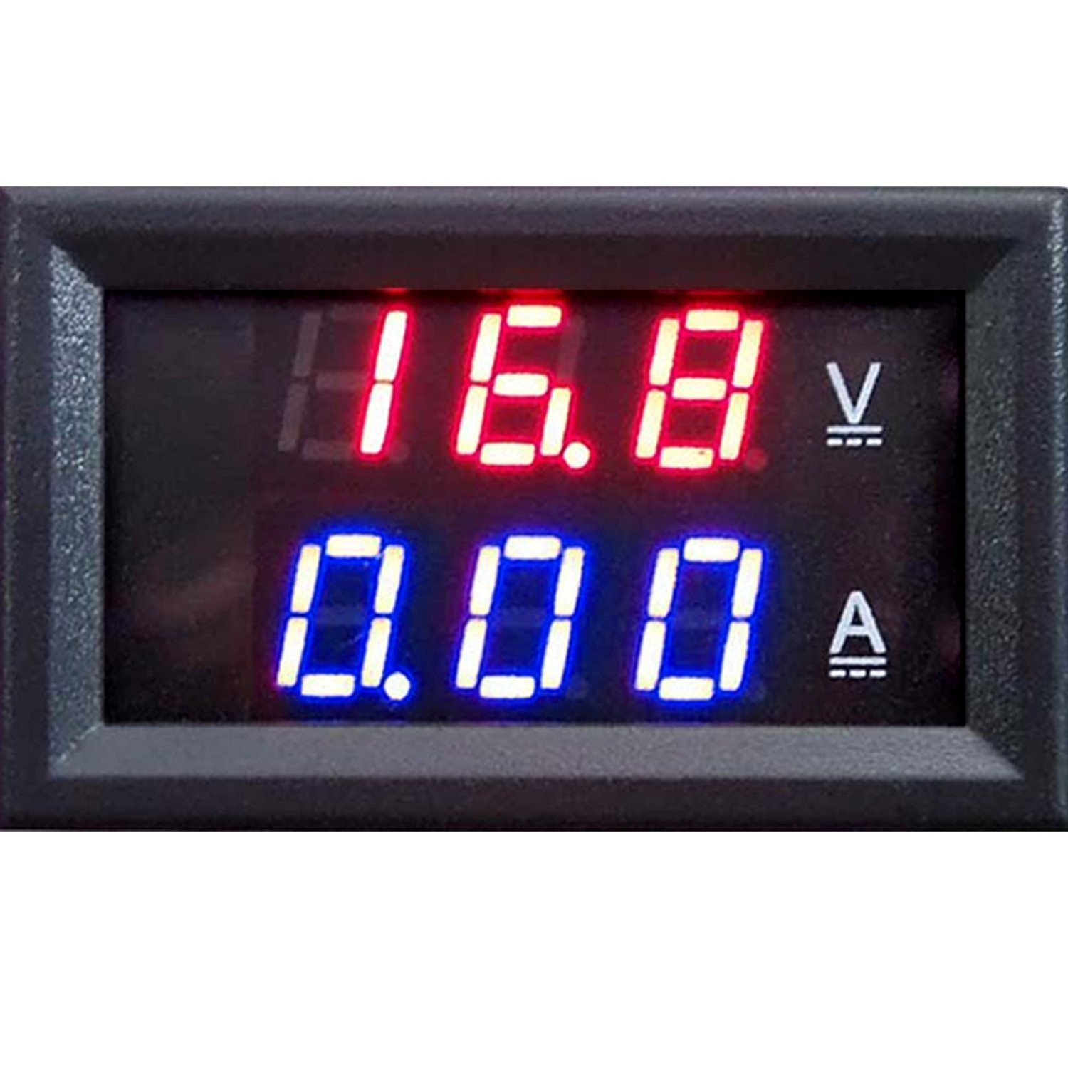 Riorand Dc Volt Amp Meter 2in1 Digital Amperemeter Voltmeter Led Motorcycle Wiring Diagram Zoom