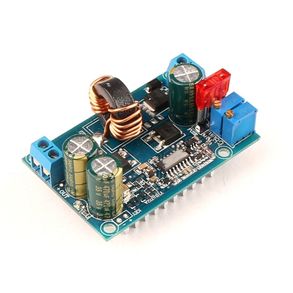 Riorand Dc Synchronous Boost Buck Converter Constant Voltage Power Led Driver Circuit Adjustable Supply Module Zoom
