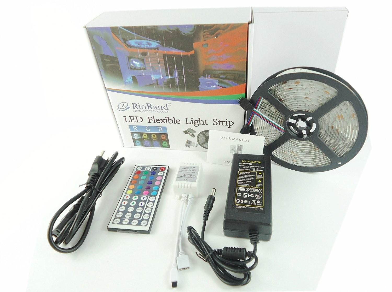 riorand led strip light waterproof outdoor wrgb kit 150 leds 16 4 rh riorand com