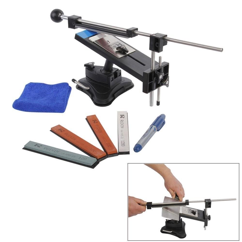riorand professional kitchen knife sharpener system kit fix angle