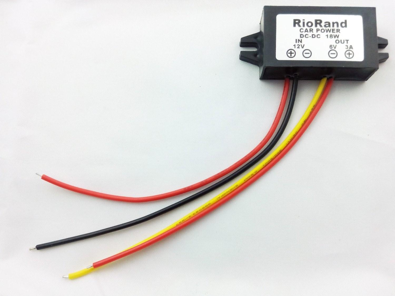 12v Dc Wiring Supplies Easy Diagrams Connectors Riorand To Converter Inverter 6v 3a 18w Power Supply Rh Com