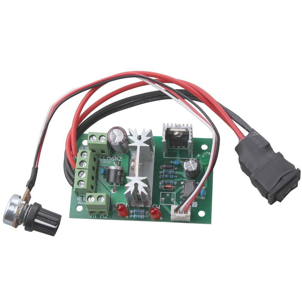 Riorand Upgraded Rrccm6nspc 150w 6v 12v 24v Reversing Switch Pwm Based Dc Motor Speed Control Using Microcontroller Circuit Diagram Controller Zoom