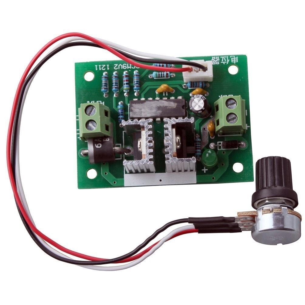PWM DC motor speed controller Promise governor Aluminum 250W 24V 36V 10A