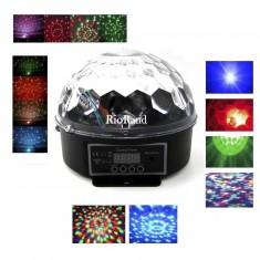 RioRand LED Magic Ball DMX  Crystal  Disco Stage Lighting KTV Party