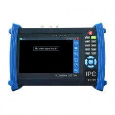 RioRand 7 inch Touch Screen IP Camera Tester Analog Test HDMI WIFI POE Ping Test CCTV Tester With TVI Test IPC-8600TVI
