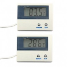 RioRand °c/°F digital Temp Thermometer Indoor With Waterproof Sensor -50°c~+80°c Aquarium Temperature Monitor