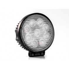 RioRand® 27W LED Flood Work Lamp Round Off Road Light High Power ATV Jeep 4x4 Tractor 60 Degree