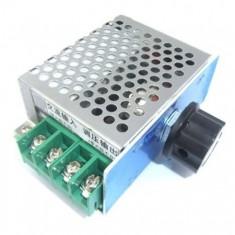 RioRand 1100W 220V SCR Voltage Thyristors Thermostat Dimmer Power Regulator 0-55V AC Motor Speed Control