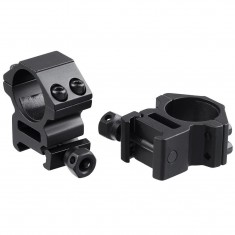 """RioRand 1"""" Inch Scope Mount Rings of 1 Pair for Picatinny/weaver Rails High Quality"""