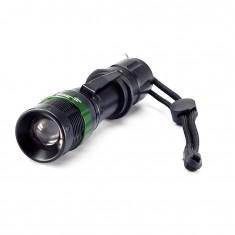 RioRand Cree Q5 LED Flashlight Torch Light 3 Mode Use AAA Battery