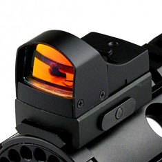 RioRand Rifle scope Reflex Holographic Red Dot Sight Dual Brightness 20mm Rail Mount Mini holographic sight