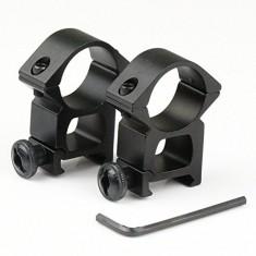 "RioRand 2pcs High Profile 25.4mm 1"" Scope Rings fit 21mm Picatinny Weaver Rail Mount Tweet"