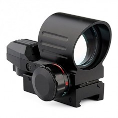 RioRand Tactical Holographic Reflex 4 Reticles Red Green Dot Sight Riflecope Scope Fit 21mm Rail DOUBLE COLOR