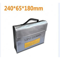 RioRand Generic RC LiPo Battery Safety Bag Safe Guard Charge Sack 235 * 180 * 65 mm