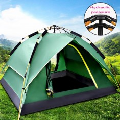 RioRand 2-3 person 3 In 1 Model With Automatic Hydraulic System Backpacking Tents(Army green)