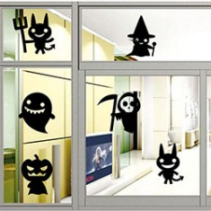 RioRand Cartoon Decorations Wall Art Decal Sticker for Kids Rooms Nursery Halloween Party (WSJ013)