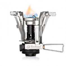 RioRand Ultralight Backpacking Canister Camp Stove with Piezo Ignition 3.9oz