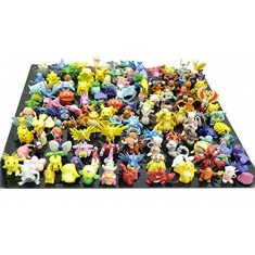 RioRand Pokemon Action Figures, 144-Piece and 2-3(cm)
