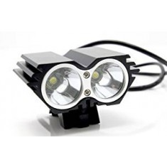 RioRand Bike Light 1500 Lumen 2x CREE  LED Cycling Lamp HeadLight