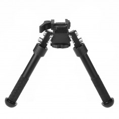 RioRand Height Adjustable Rifle Bipod Flat Ultra light Tactical Handle Bipod Black