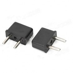 RioRand® EU Travel AC Power Adapter Plugs (2 pcs / 125~250V)