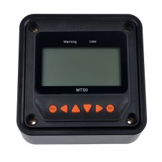 RioRand® Remote Meter LCD Display (MT50) for Solar Regulator Solar Charge Controller (Black)