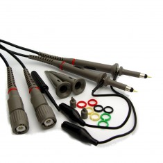RioRand™ 2 X 100MHz Oscilloscope Clip Probes with Accessory Kit
