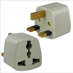 RioRand® Universal UK Travel Power Adapter Plug 3PCS