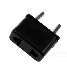 RioRand® 6A 1500W EU Plug Power Adapters - Black + Silver (5 PCS / 125~250V)
