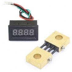 "RioRand® Red LED 0.36"" Dgital Ammeter Panel Meter 0-300A DC High Current Shunt"