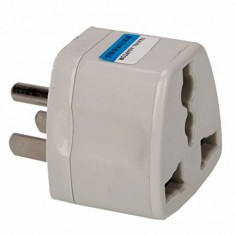 RioRand® Universal US Travel Power Adapter Plug 3PCS