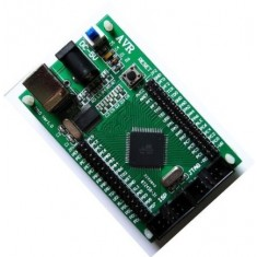 RioRand®ATMEGA128 mega128 AVR Development Board Minimum System With USB Cable