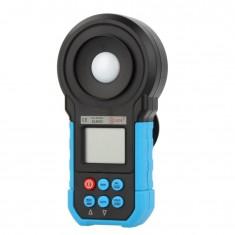 RioRand® ELM02 Auto Range Digital LCD Lux/FC Meter Light Illuminance Meter 20~200000Lux