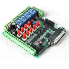 RioRand® 6 Axis MACH3 Isolated Interface Breakout Board Adapter High-Speed Optocoupler