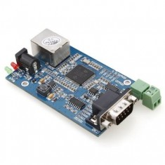 RioRand® RS232 / RS485 to Ethernet Serial Device Servers Module TCP/IP/UDP Support DHCP