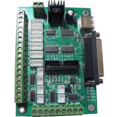RioRand® USB DB25 6 Axis Breakout Board Interface Adapter F PC Stepper Motor Driver Board