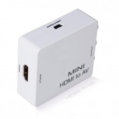 RioRand Mini HDMI to AV Composite RCA CVBS Video + Audio Converter For TV PS3 VHS VCR DVD