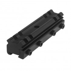 RioRand Tactical 11mm Dovetail to 20mm Weaver Picatinny Rail Base Mount Adapter Converter