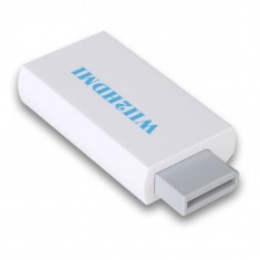 RioRand Wii to HDMI 480p Converter Adapter Wii2hdmi 3.5mm Audio Box Wii-link White